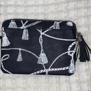 Chico's | Tassel pattern tablet pouch w/pocket